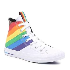 CHUCK TAYLOR ALL STAR PRIDE HIGH-TOP SNEAKER NWOT